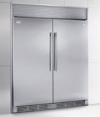 Frigidaire stand alone freezer and refrigerator units. In
