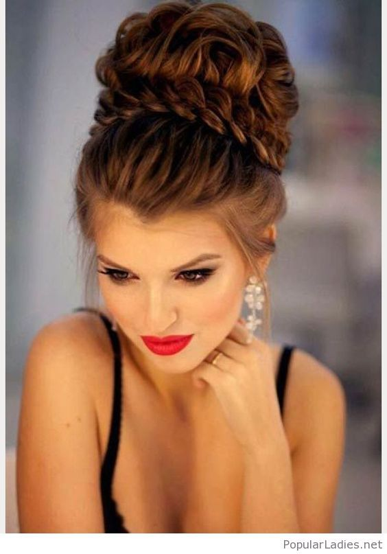 25 Best Ideas About Big Updo On Pinterest Updo For Long Hair