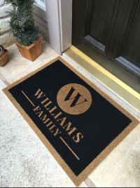 10 Best ideas about Personalized Door Mats on Pinterest ...