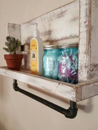 Best 25+ Pallet Shelf Bathroom ideas that you will like on