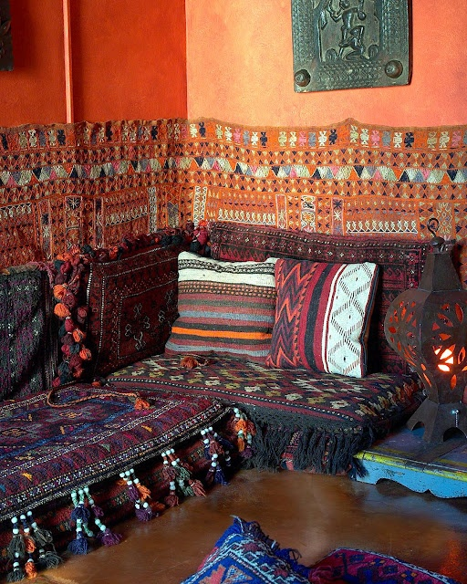 arabian themed living room ideas gray and red moroccan room. love the pillows wall ...