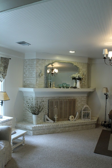 1000 Images About Corner Fireplace Mantel Ideas On