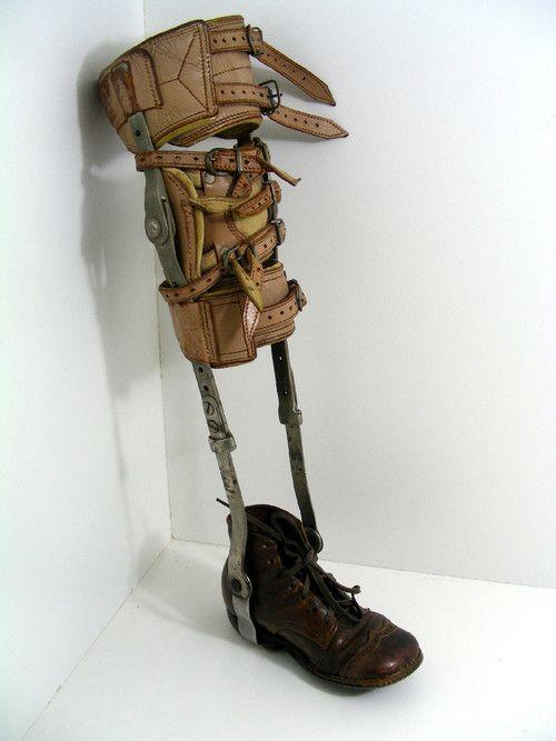vintage dentist chair the shane dawson antique childs polio leg brace leather medical oddity poliomyelitis | ebay anarchist-design ...