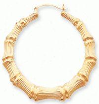 Ghetto gold bamboo earrings.   80's thing....   Pinterest ...