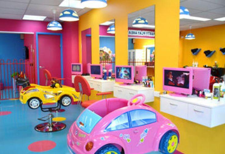 1000 ideas about Kids Hair Salons on Pinterest  Kids salon Hair salon for kids and Childrens