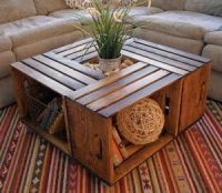 17 Best ideas about Crate Coffee Tables on Pinterest ...