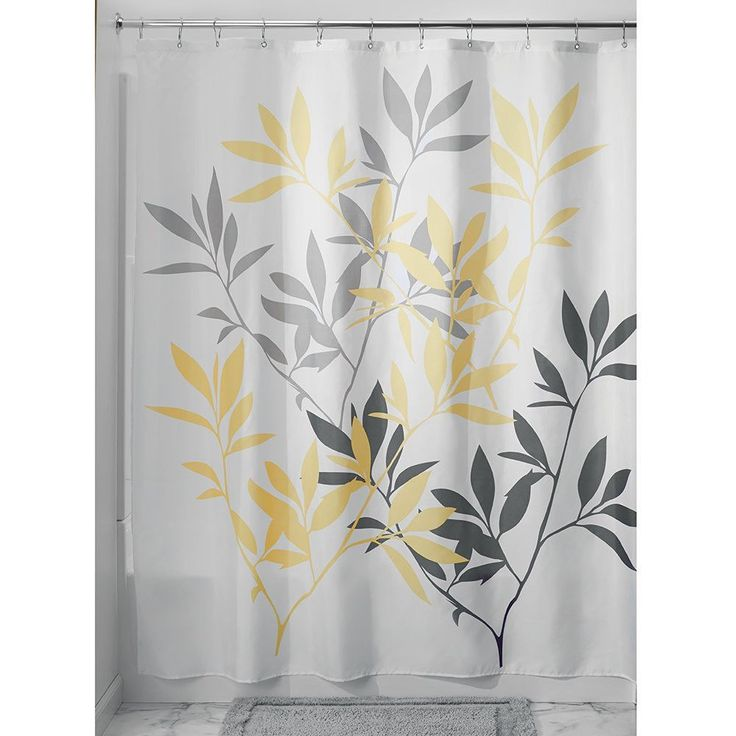 The 25 Best Ideas About Yellow Shower Curtains On Pinterest Red