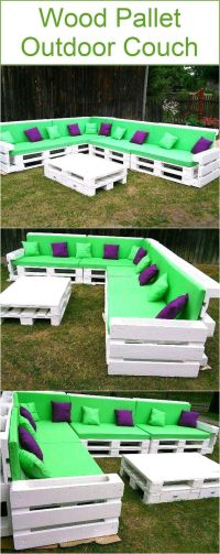 Best 25+ Pallet couch outdoor ideas on Pinterest | Pallet ...