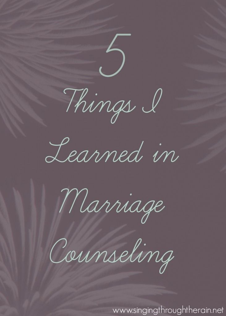 5 Things I Learned in Marriage Counseling – You DONT want to miss this! #marriage