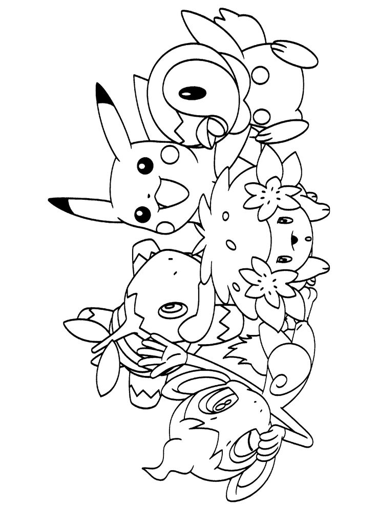 Best 20 Pokemon Coloring Pages Ideas