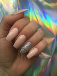 17 Best ideas about Sparkle Gel Nails on Pinterest