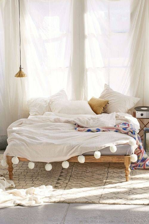 25 Best Ideas about No Headboard Bed on Pinterest  No