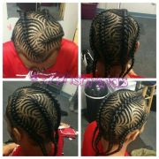 freestyle iverson men's braids
