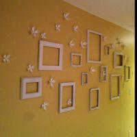 Hallway wall decor -perfect for my long narrow hallway ...