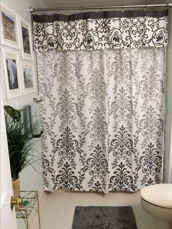 The 25 Best Ideas About Shower Curtain Valances On Pinterest