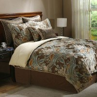 paisley bedding - sage and brown | Bedroom ideas ...