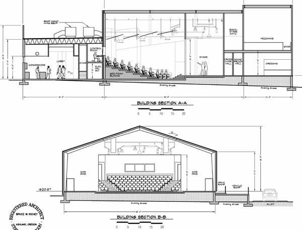 Floor Plan Template For Theatre