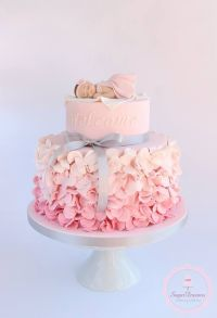 Best 25+ Baby girl cakes ideas on Pinterest