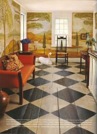 17 Best ideas about Painted Wood Floors on Pinterest ...