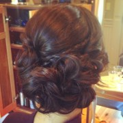 prom hair soft side updo shannon