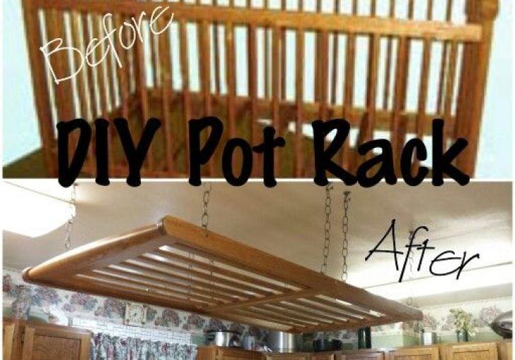 Diy Hanging Pot Racks