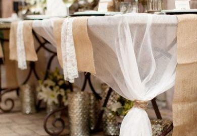 Burlap Ideas For Rehearsal Dinner
