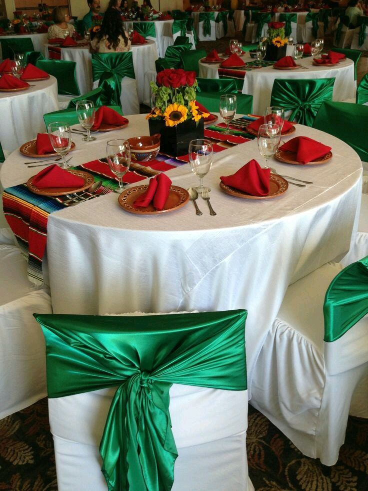 Mexican themed party table and centerpiece  Celebrations  Events  Pinterest  Themed parties