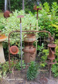 25+ best ideas about Primitive garden decor on Pinterest ...