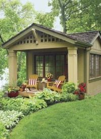 17 Best ideas about Backyard Guest Houses on Pinterest