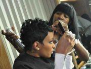 ideas monica hairstyles