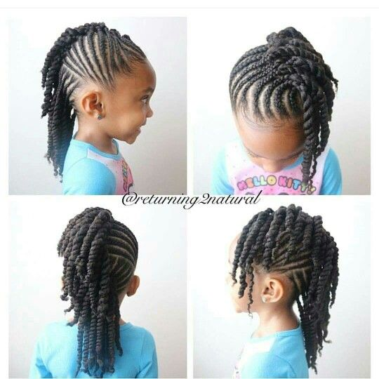 25 Best Ideas About Kids Braided Hairstyles On Pinterest Black