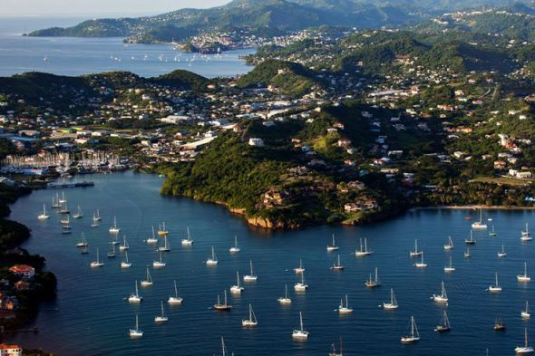 Image result for aerial view of prickly Bay