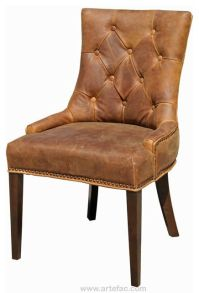 1000+ ideas about Leather Dining Chairs on Pinterest