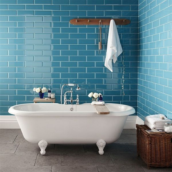 New York Loft Bathrooms And The London Underground.....Classic Looks From Two Amazing Cities....:
