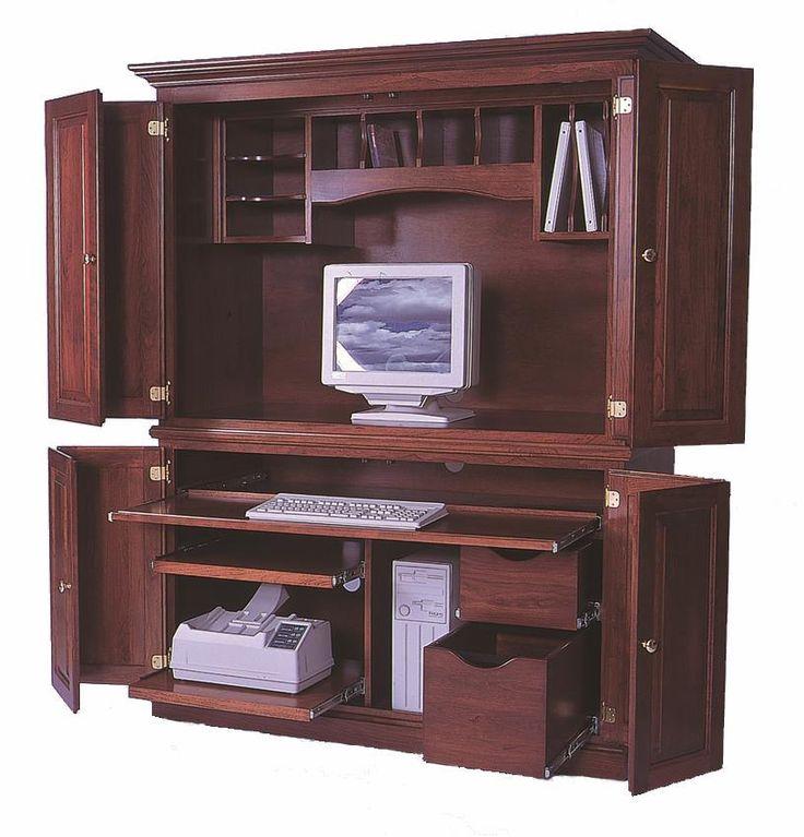 Corner Armoire Desk