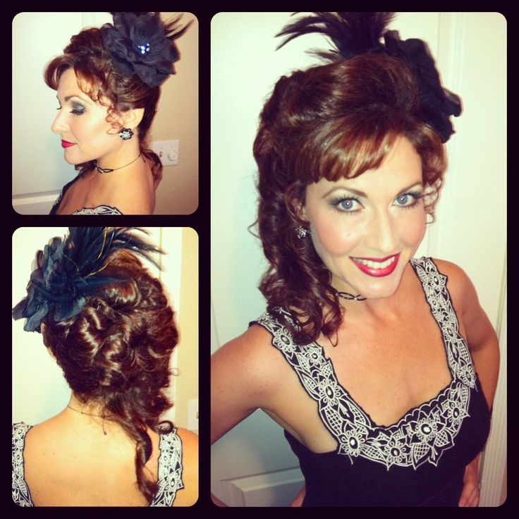 Saloon Girl Hairstyle Hairstyles I Love! Pinterest