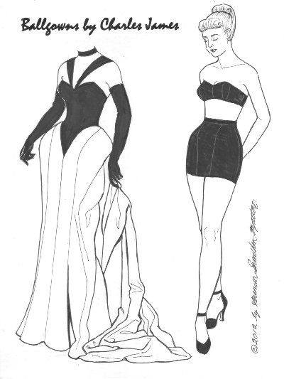 31 best images about Fashion Charles James on Pinterest