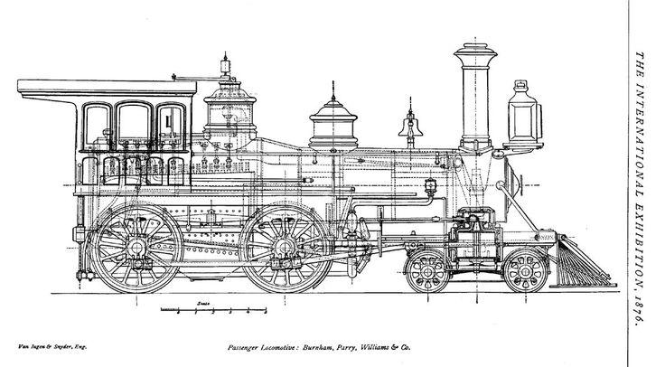 92 best images about Blueprints, Railroads on Pinterest