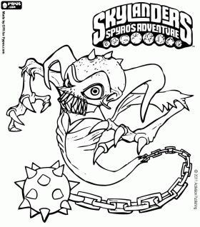 78+ images about Skylanders coloring pages on Pinterest