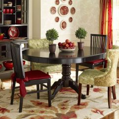 Pier One Import Chairs Adirondack Resin Tobacco Brown Small Buffet Table | Eat In Kitchen, Pedestal And Accent Colors