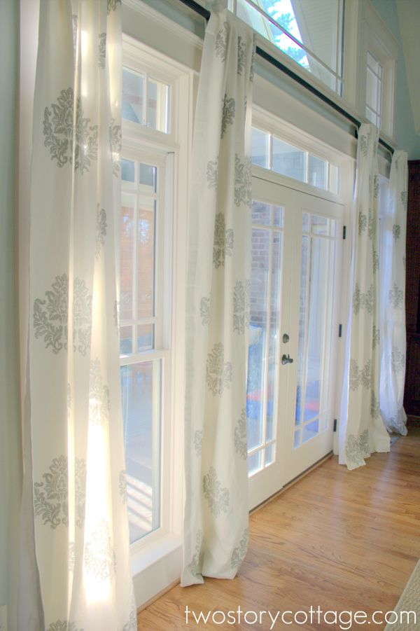 25 Best Ideas About Extra Long Curtain Rods On Pinterest Extra