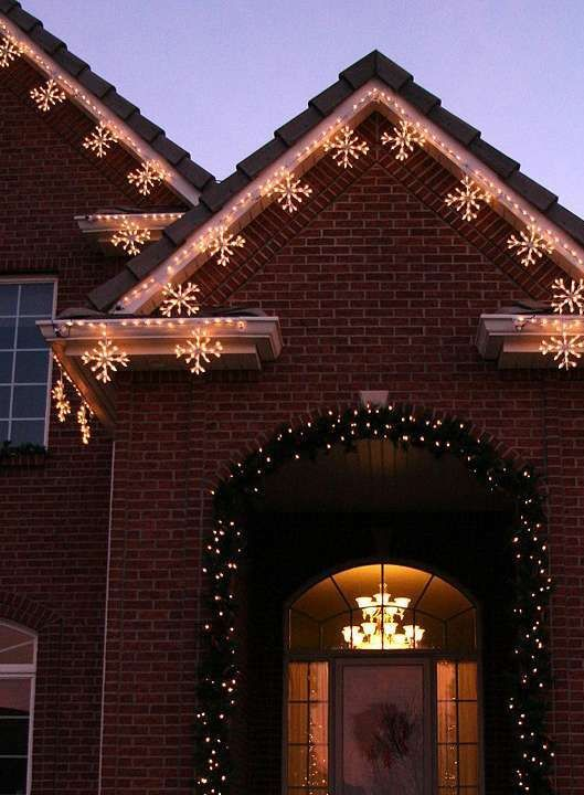 Christmas Light Ideas For Ranch Style House House Interior