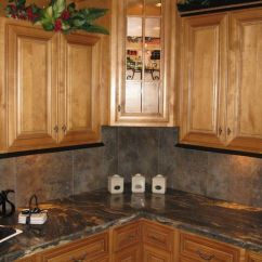 Best Wood Stain For Kitchen Cabinets Crosley Cart Sister - This Is Pretty. Black Crown Molding With Brown ...