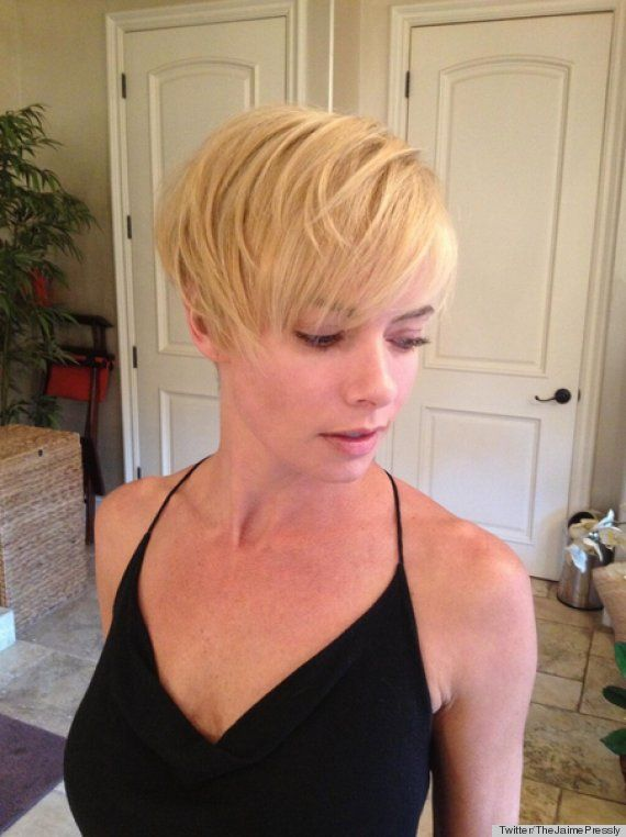PHOTOS Miley Cyrus Amp Jaime Pressly Are Becoming Hair