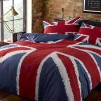 Union Jack Duvet Cover | Red white blue, Duvet covers and ...