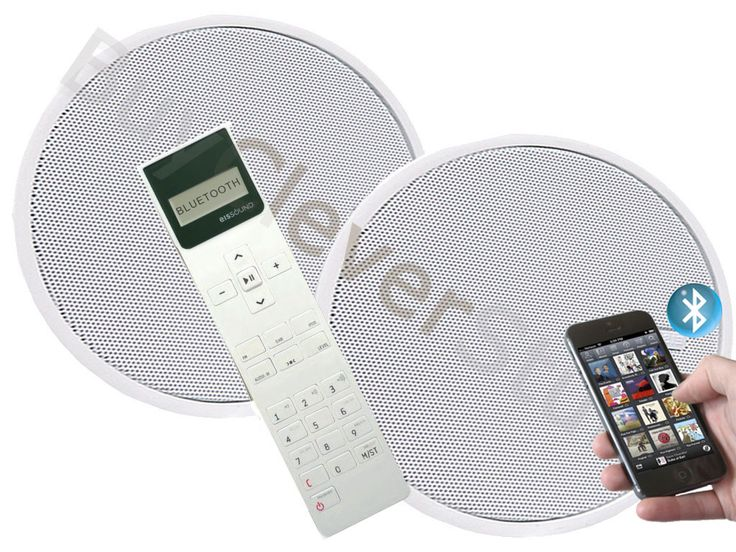 KB Sound iSelect 5 DAB Radio  Bluetooth Ceiling Speaker