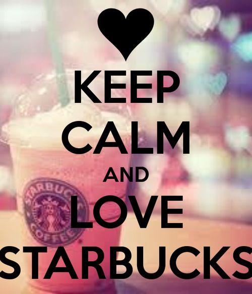 Cute Frappuccino Wallpaper Love Starbucks Keep Calm ☕️ Coffee Lover ️ Pinterest