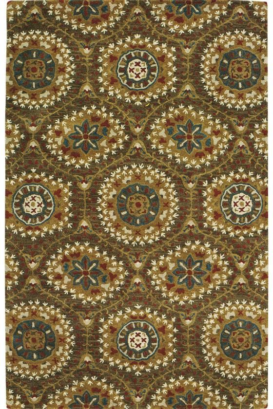 Boho Area Rug hand tufted wool from India Freedom of colour and pattern will beautifully