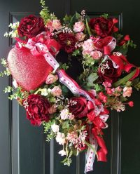 17 Best images about Valentine Wreaths  on Pinterest ...