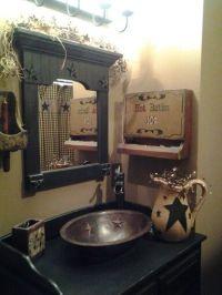 25+ Best Ideas about Primitive Bathroom Decor on Pinterest ...